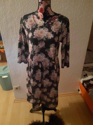 Cheer Robe longue noir-rosé