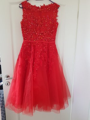 Sequin Dress red