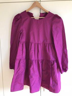 Zara Empire Dress purple