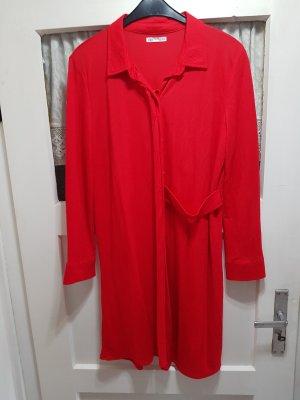 Zara Longsleeve Dress red
