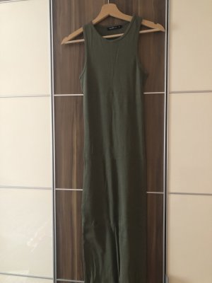 Calliope Robe à manches longues kaki