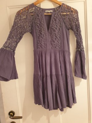 American Eagle Outfitters Longsleeve Dress grey-slate-gray