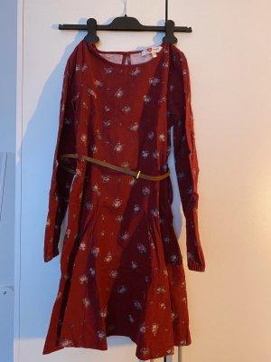 Koton Vestito di lana rosso scuro