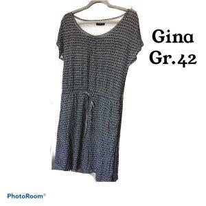 Gina Vestido playero negro