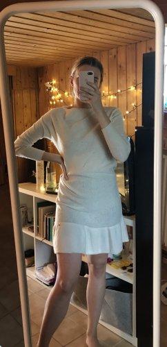 by o la la...! Robe pull blanc-blanc cassé