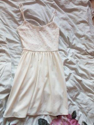H&M Divided Vestito da spiaggia bianco-bianco sporco