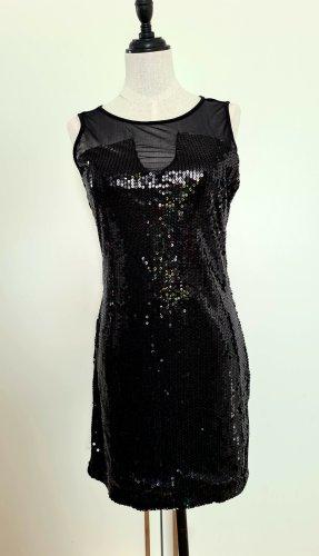 Amisu Sequin Dress black