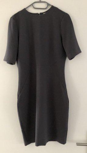 H&M Pencil Dress grey mixture fibre