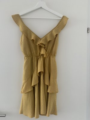 NA-KD Babydoll Dress ocher