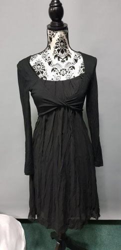 Heine Chiffon Dress black