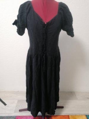Coline Pinafore dress black