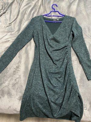 Elfberg Vestito di lana verde scuro
