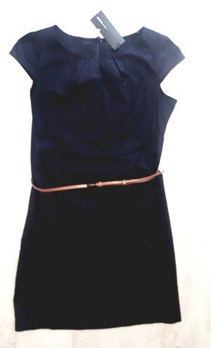 Zero Vestido elástico azul oscuro