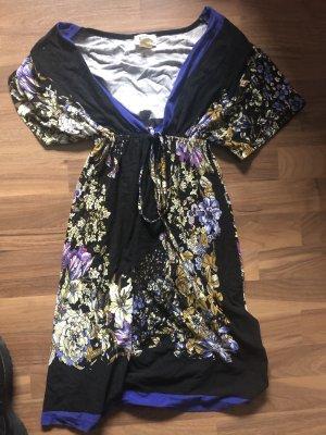 b.p.c. Bonprix Collection Robe d'été noir-violet