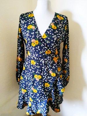 AX Paris Sukienka z długim rękawem Wielokolorowy