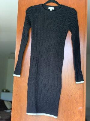 New Look Abito di maglia nero-bianco