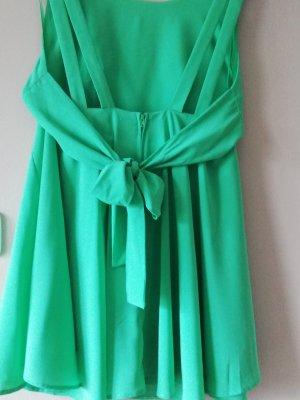 Gina Tricot Kopertowa sukienka zielony