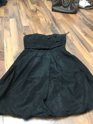 Zara Sukienka z rękawem balonowym czarny