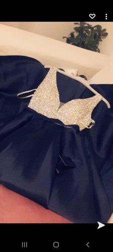 & other stories Sukienka z długim rękawem ciemnoniebieski