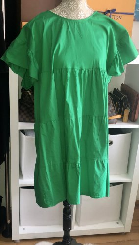 Vestido babydoll verde