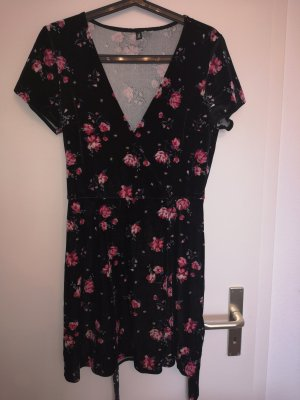 H&M Divided Robe stretch noir-rose