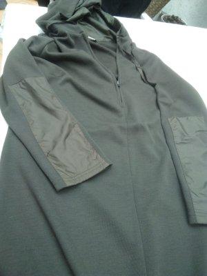 Apart Robe à capuche vert olive acrylique