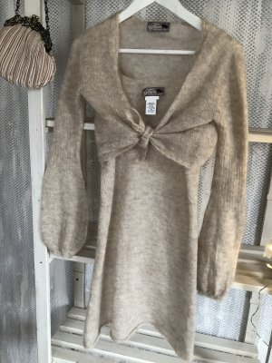 Vestito di lana multicolore Mohair