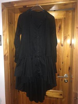 Vestido mullet negro