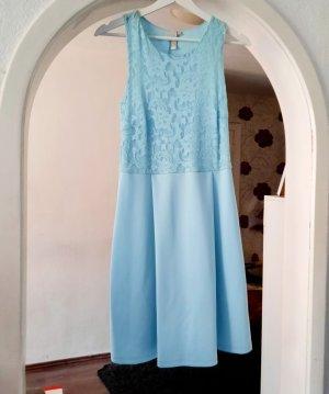 Boutique Koronkowa sukienka jasnoniebieski