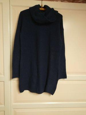HM Robe en laine bleu foncé
