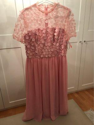 Chi Chi London Chiffon Dress pink