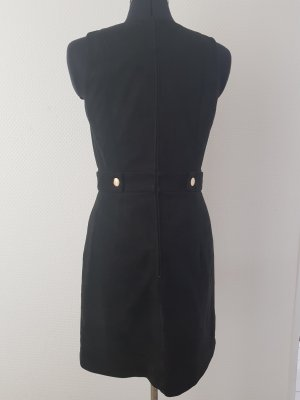H&M Pencil Dress black mixture fibre