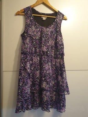 b.p.c. Bonprix Collection Flounce Dress lilac-grey violet
