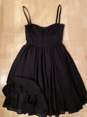 Mango Vestido bustier negro