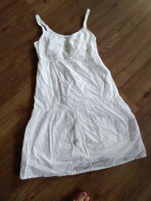 Esprit Robe d'été blanc coton