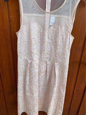 Vila A Line Dress cream