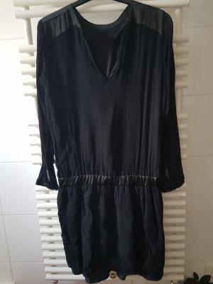 Ichi Sukienka z długim rękawem czarny
