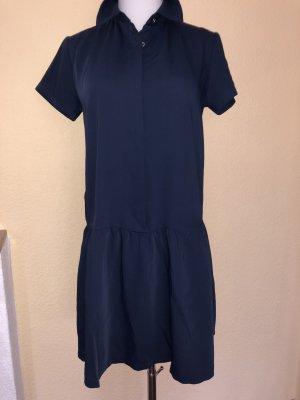 Cynthia Rowley Chiffon Dress dark blue