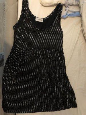by second female Sukienka mini biały-czarny