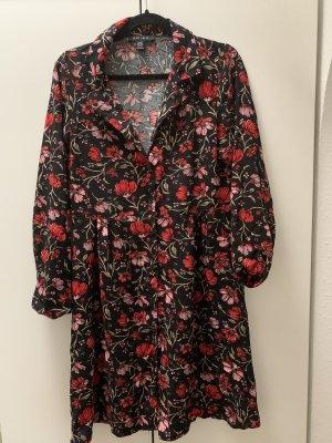 Amisu Robe à manches longues multicolore