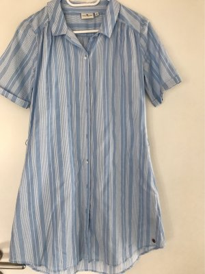 Tom Tailor Koszulowa sukienka jasnoniebieski-biały