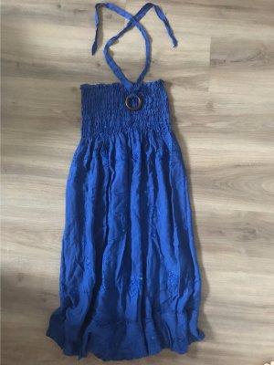 Vestido Hippie azul
