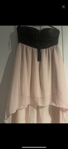 Robe de bal rosé-noir