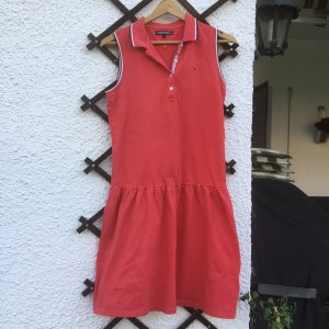 Tommy Hilfiger Polo Dress bright red