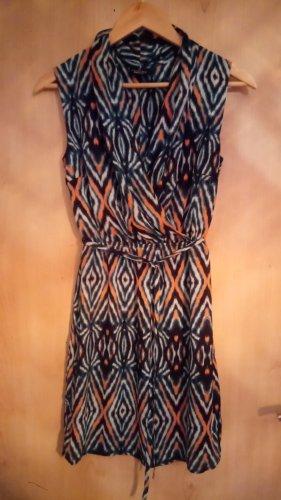 Flame Robe à bretelles multicolore polyester