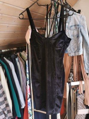 Asos Sukienka dresowa czarny