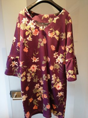 Bodyflirt Flounce Dress dark violet