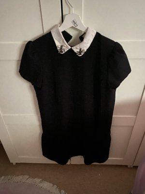 Mango Sukienka z krótkim rękawem czarny