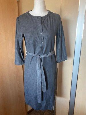 Object Jeansowa sukienka ciemnoszary