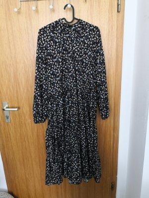 keine Midi-jurk donkerblauw